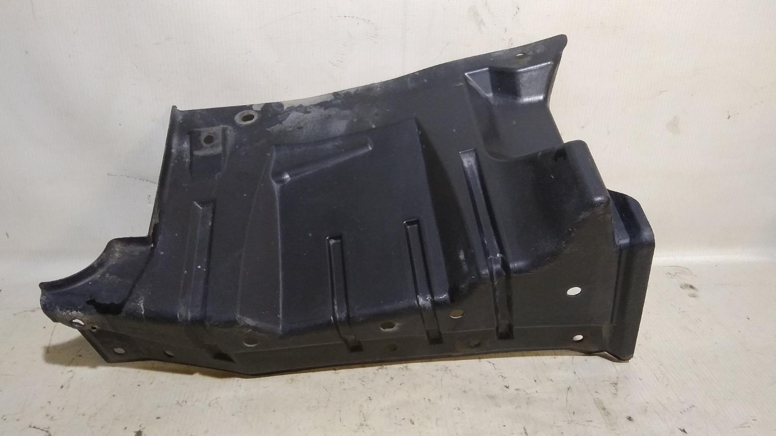 Защита двигателя Mitsubishi Lancer CY3A 4B10 2008 передняя левая
