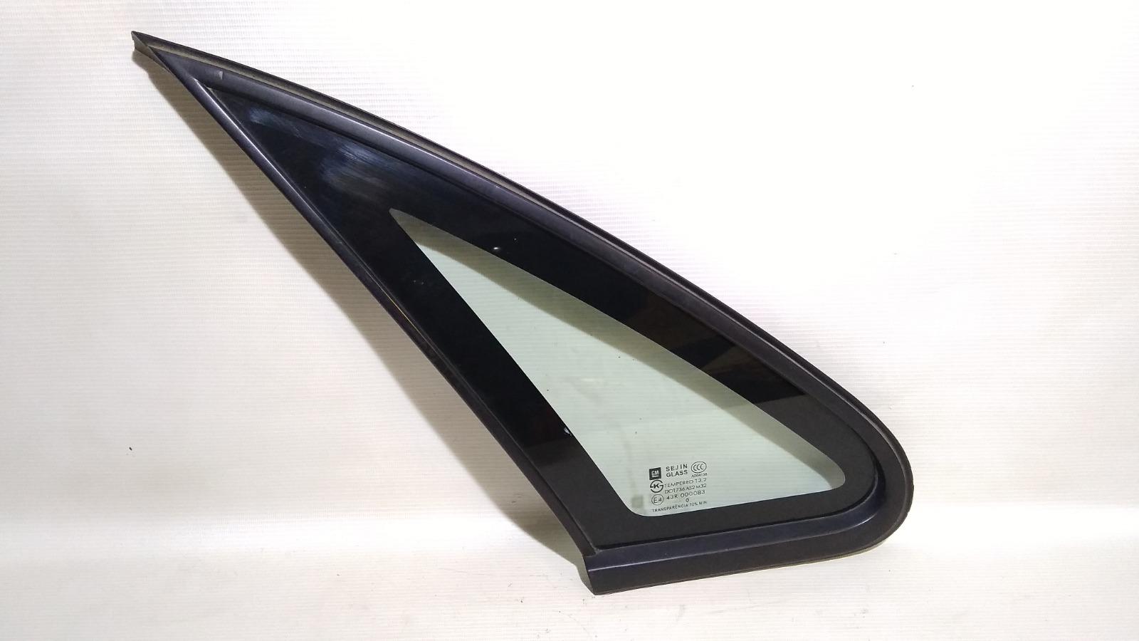 Форточка двери Chevrolet Lacetti J200 F16D3 2003 левая