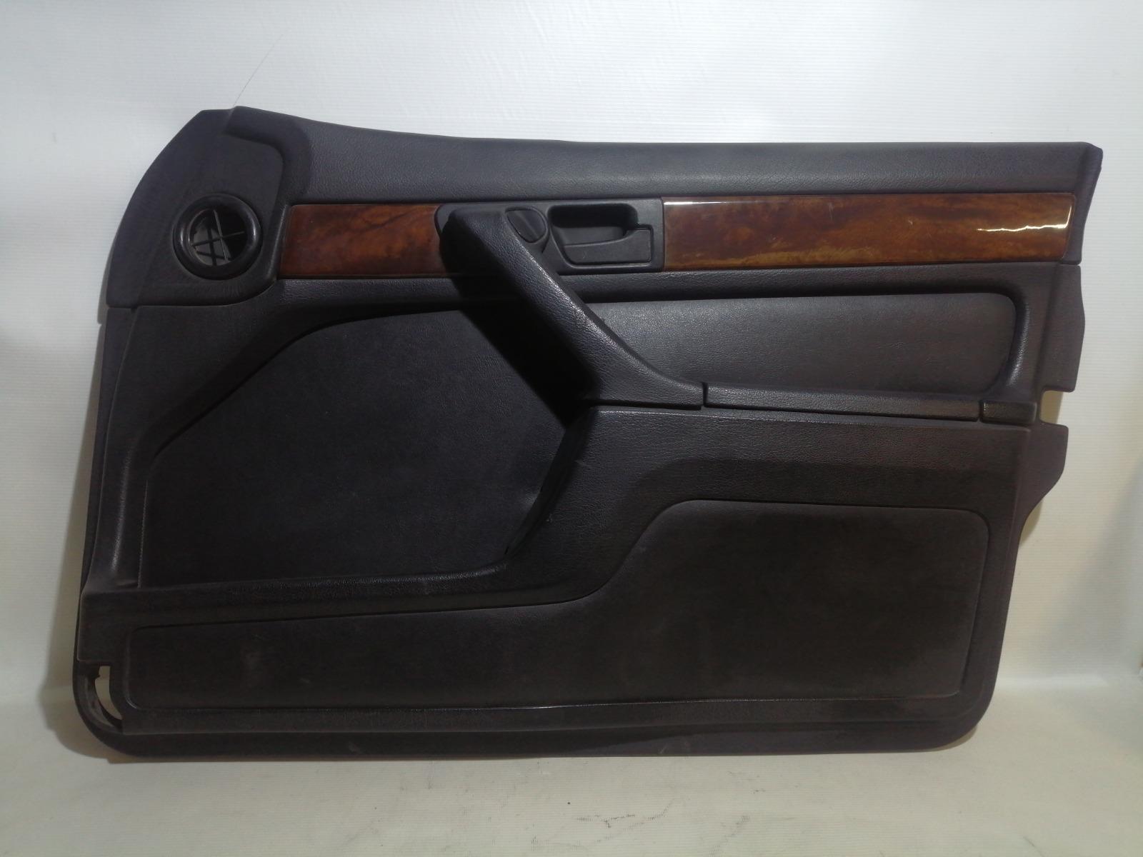 Обшивка двери Bmw 7-Series E32 M20B25 1986 передняя правая