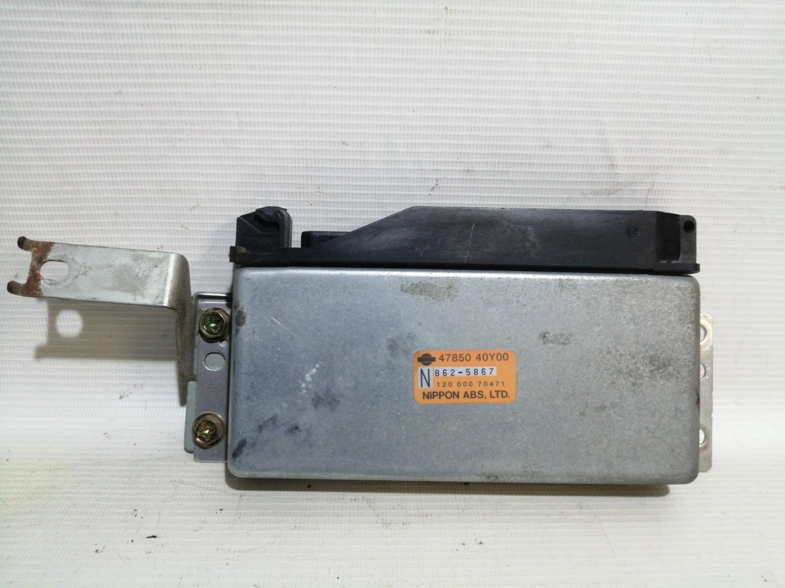 Блок управления abs Nissan Pulsar FN15 GA15DE 1999