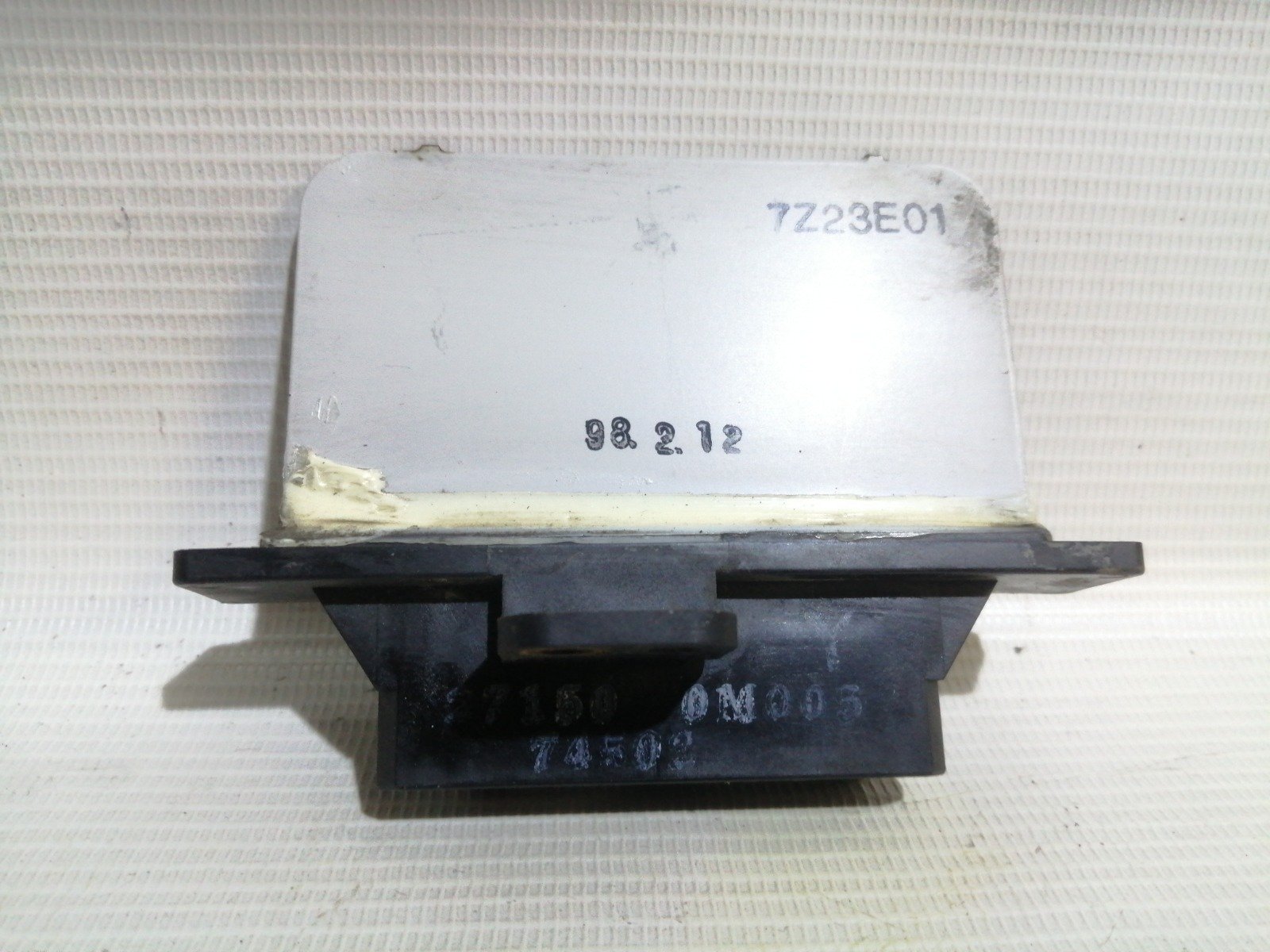 Реостат печки Nissan Pulsar FN15 GA15DE 1999