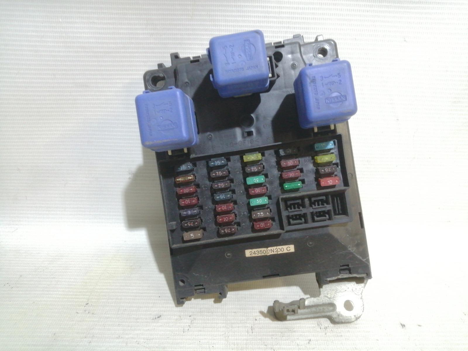 Блок предохранителей салона Nissan Pulsar FN15 GA15DE 1999