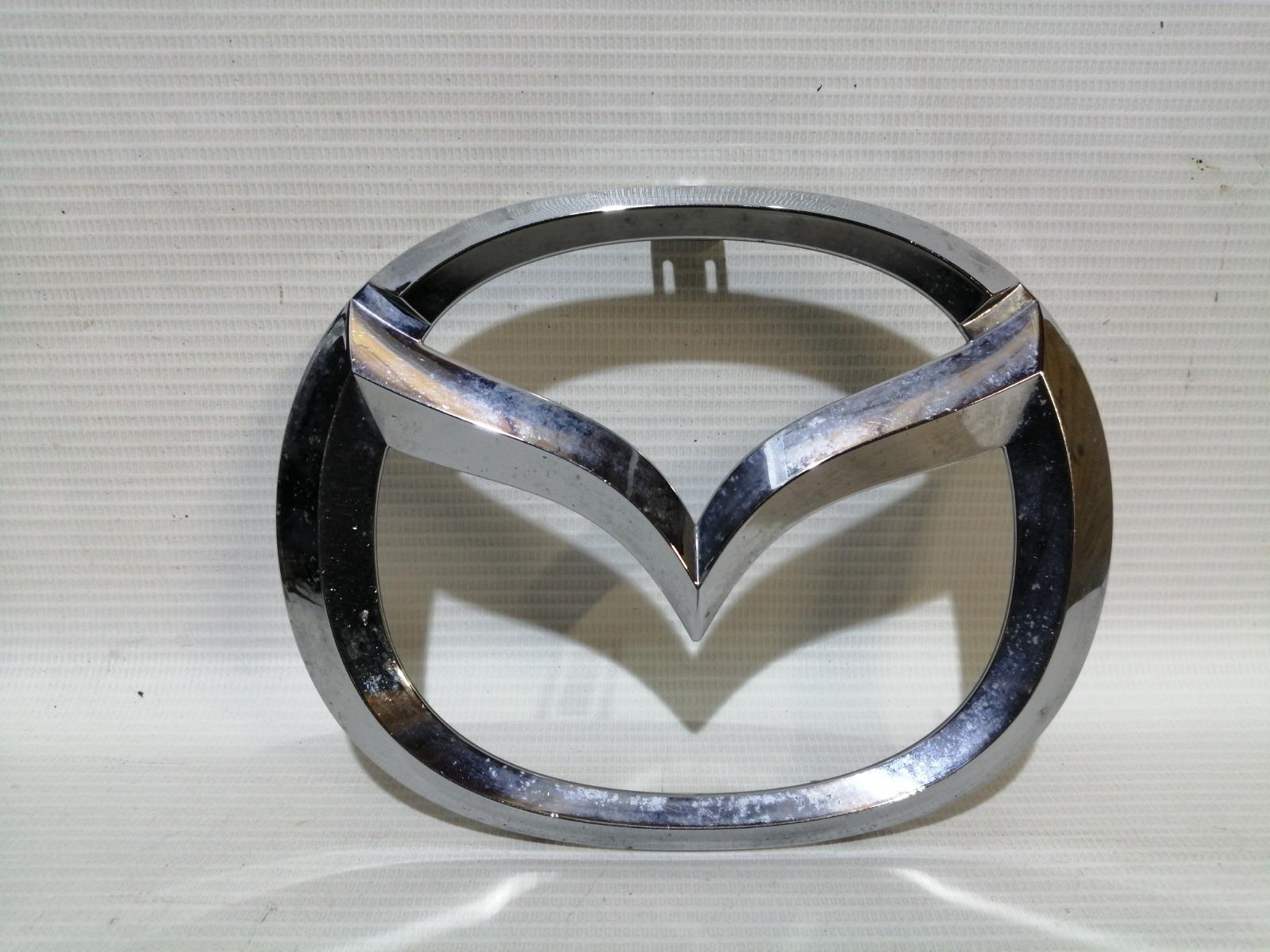 Эмблема Mazda Mazda 3 BL Z6 2009 передняя