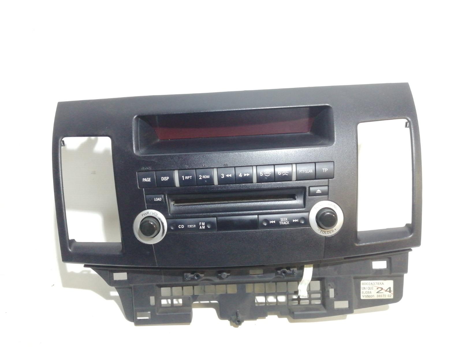 Магнитола Mitsubishi Lancer CY3A 4B10 2008