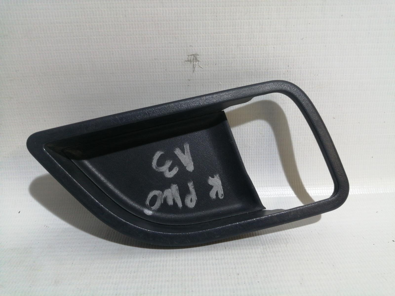 Накладка на ручку двери внутренняя Kia Rio UB G4FA 2011> задняя левая