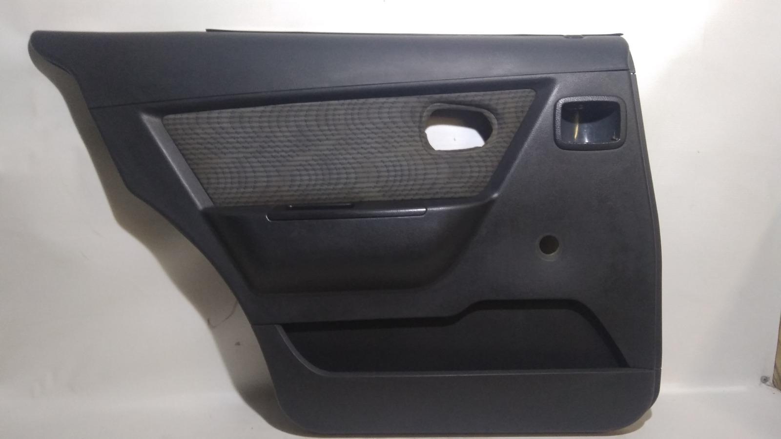 Обшивка двери Daewoo Nexia KLETN F16D3 2010 задняя левая