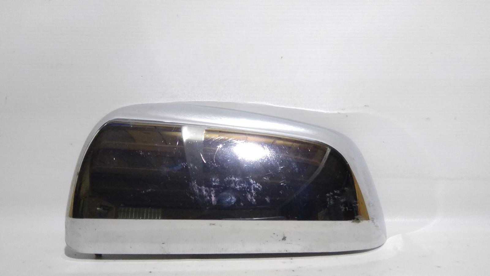 Накладка на зеркало заднего вида боковое Mitsubishi Lancer CY4A 4B11 2007 левая