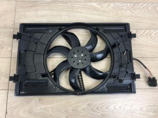 Запчасть вентилятор охлаждения в сборе с диффузором VW Passat B8 2015-