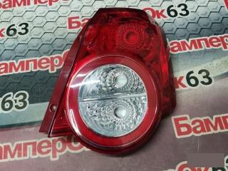 Запчасть фонарь наружний задний правый Chevrolet Aveo 2005