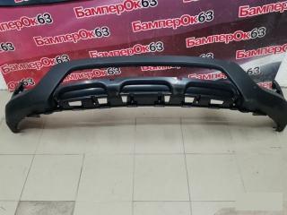 Запчасть накладка на бампер передняя Hyundai Santa Fe 2012
