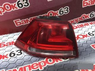 Запчасть фонарь наружний задний левый Volkswagen Golf 2012