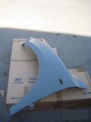 Запчасть крыло переднее левое Hyundai Santa Fe 2006