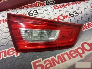Запчасть фонарь внутренний задний левый Mitsubishi ASX 2010