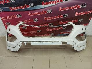 Запчасть бампер передний Hyundai Grand Santa Fe 2013