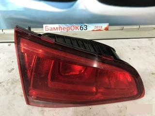 Запчасть фонарь внутренний задний левый Volkswagen Golf 2012
