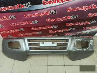 Запчасть бампер передний Mitsubishi Pajero 2000