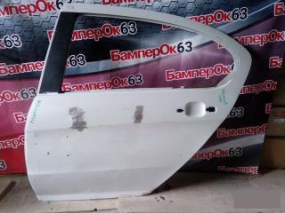Запчасть дверь задняя левая Peugeot 408 2012