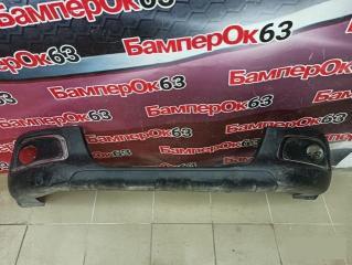 Запчасть юбка бампера передняя Peugeot 2008 2013