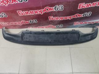 Запчасть юбка бампера задняя Skoda Octavia 2013