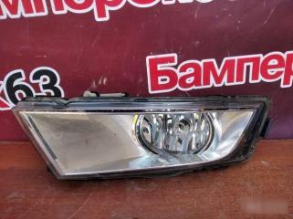 Запчасть фара противотуманная передняя левая Skoda Octavia 2013