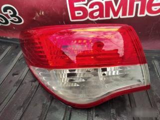 Запчасть фонарь задний левый Nissan Almera 2013