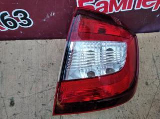 Запчасть фонарь задний правый Skoda Rapid 2013