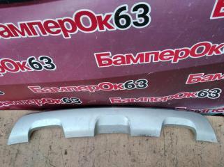 Запчасть накладка бампера задняя Renault Sandero 2014