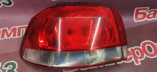 Запчасть фонарь задний левый Volkswagen Golf 2008