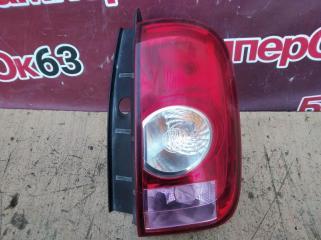 Запчасть фонарь задний правый Renault Duster 2012