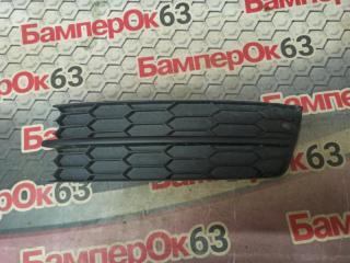 Запчасть решетка в бампер левая Skoda Rapid 2012