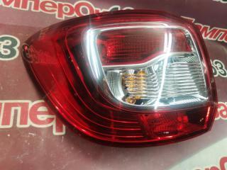 Запчасть фонарь наружний задний левый Renault Sandero 2014