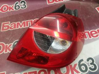 Запчасть фонарь задний правый Renault Clio 2005