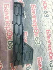 Запчасть решетка в бампер передняя правая Skoda Octavia 2013