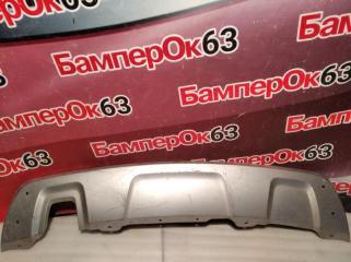 Запчасть накладка бампера задняя Renault Duster 2012