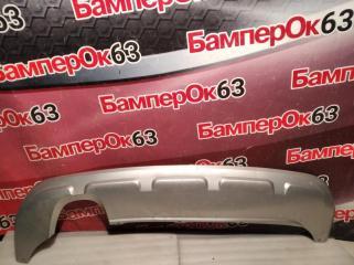 Запчасть накладка бампера задняя Skoda Yeti 2010