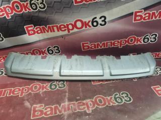 Запчасть накладка бампера передняя Skoda Yeti 2009