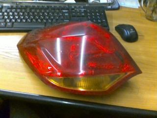 Задний фонарь левый Opel Astra J 2011