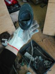 Запчасть ручка внутренняя Daewoo Matiz 2011