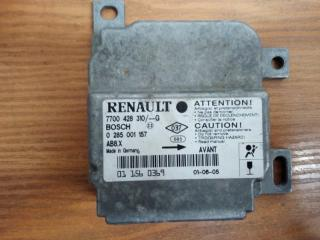 Запчасть блок управления air bag Renault Symbol 1998-2008