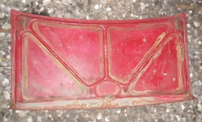 Крышка багажника задняя ВАЗ 2107