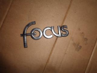 Запчасть эмблема задняя Ford Focus 2004