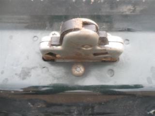 Запчасть замок багажника задний Opel Omega B 1994-1999