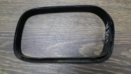 Запчасть накладка зеркала левая Audi 100 1991