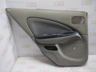 Обшивка двери задняя левая Nissan Almera 2000