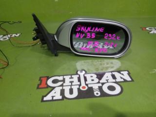 Зеркало бокового вида переднее правое NISSAN SKYLINE