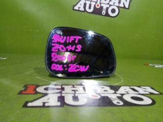Запчасть зеркало-полотно переднее правое SUZUKI SWIFT 2005