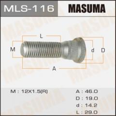 Шпилька колесная Masuma
