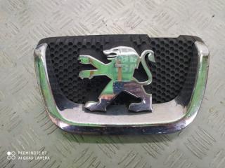 Запчасть эмблема передняя Peugeot 407 2004-2011
