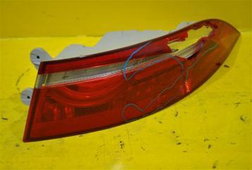 Запчасть фонарь наружний задний правый Jaguar XF 2015-