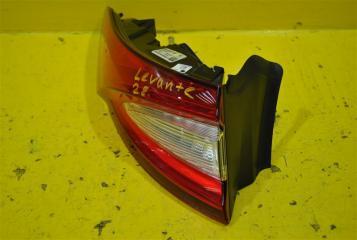 Запчасть фонарь наружний задний левый Maserati Levante 2016-
